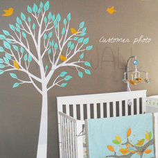 Modern Wall Decals by nouwall
