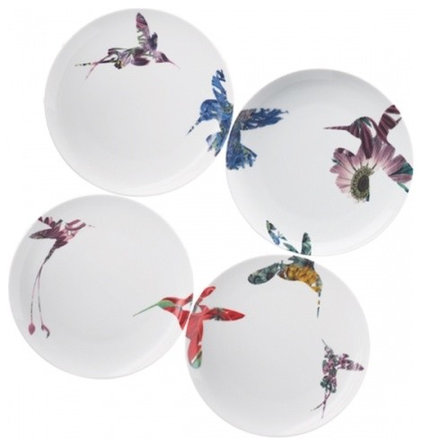 Asian Dinner Plates by Marc James Design