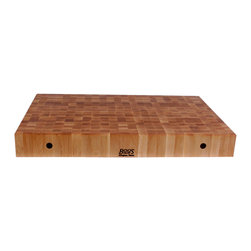 "John Boos - Boos 4"" Thick Maple Chinese Chopping Blocks - Sizes M, L, XL - 4-in. thick Maple end-grain Chinese Chopping Blocks. 18 and 24-inch squares. Also 30x24, 36x24 and 48x24 inches. Ample space for the serious home chef."