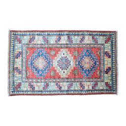 1800GetARug - Super Kazak Tribal Design Hand Knotted Rug Oriental Rug Sh11252 - About Tribal & Geometric