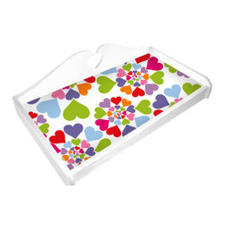"Room Magic - Heart Throb Changing Pad Cover - Coordinating Changing Pad Cover of the finest 100% Cotton poplin. Fits standard size changing pads, 32""w x 16""D x 4"" H"