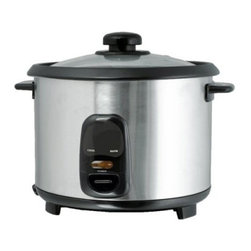 Brentwood TS-15 8 Cup Rice Cooker - Stainless Steel - About Brentwood Appliances, Inc.With a product line spanning from coffee makers and can openers to Dutch ovens, sauce pans, and more, Brentwood Appliances, Inc. proudly offers an excellent selection of small appliances and cookware. Committed to keeping customers satisfied, Brentwood Appliances focuses on providing best-quality, best-priced products and top-notch customer service.