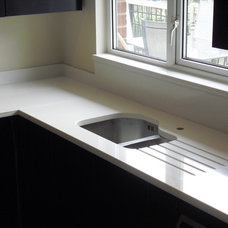 Contemporary Kitchen Countertops by Cheshire Granite Worktops
