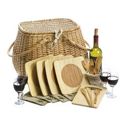 Eco Picnic Basket for Four