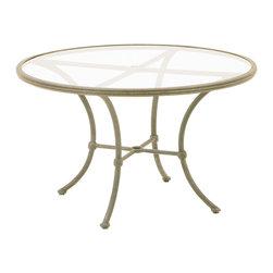 Woodard Landgrave - Hacienda Round Umbrella Table (60 in.) - Choose Size: 60 in..