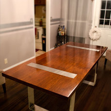Modern Dining Tables by Open Square Woodworking