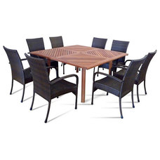 Eclectic Patio Furniture And Outdoor Furniture by teakwickerandmore.com