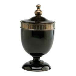Large Brown Nicola Urn - *Large Nicola Urn