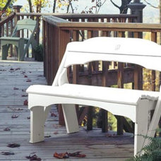 Traditional Outdoor Benches by Cottage & Bungalow