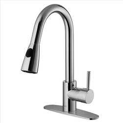 Vigo - VIGO VG02005CHK1 Spray Faucet w/ Deck Plate - Add flair to your kitchen with this stylish yet durable VIGO faucet