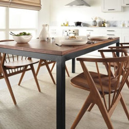 Parsons Dining Table with Soren Dining Chairs -