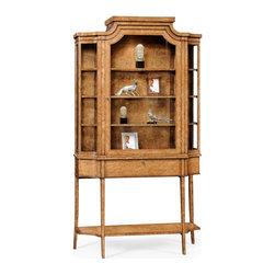 Finish On Metal China Cabinet - Biedermeier inspired display cabinet ...