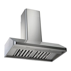 Kobe - Kobe CH9148SQB-WM-1 48W in. CH191 Series Wall Mounted Range Hood Multicolor - CH - Shop for Hoods and Accessories from Hayneedle.com! Sleek beveled edge makes this hood the jewel of your kitchen remodelQuietMode setting allows hood to operate at 300 CFM at a reduced sound level of 40 decibels (1.0 sone); other hoods operate at 6-8 sones at that CFM levelTime Delay System with 3-minute delay shutoff or immediate shutoffECO Mode runs the fan on the QuietMode setting for 10 minutes every hour removing excess moisture and microscopic particles that cause odors for cleaner fresher kitchen airTwo 3W LED lights with 3-level lighting for a bright safe cooking experienceEfficient blower with twin vertical turbine impellerEasy-to-empty catch areas and smooth hood surface for deep cleaning without disassembling the hoodDucting options: Top 6-inch round Top 3.25 x 10 in. rectangular or Rear 3.25 x 10 in. rectangularFits ceilings up to 9.5 ft. highAbout KOBE Range HoodsA world leader in quiet kitchen ventilation Kobe Range Hoods are designed by the Japanese-based Tosho & Company Ltd. Their products feature revolutionary QuietMode technology inspiring their motto: So Quiet You Won't Believe It's On! The result of extensive research and development the innovative QuietMode feature allows you to operate your range hood without irritating fan noise while cooking or entertaining guests in the kitchen. Kobe Range Hoods has been providing quality products and exceptional customer service in the United States and Canada for over 40 years.
