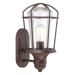 Quoizel - Quoizel MRE8408 Marine 1 Light Outdoor Wall Sconce with Vintage Edison Bulb - Features: