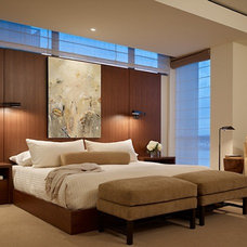 Contemporary Bedroom by NB Design Group, Inc