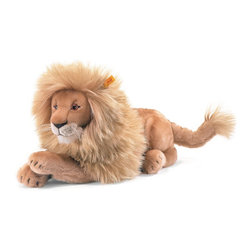 Steiff - Steiff Leo Lion - Steiff Leo Lion is made of cuddly soft blond woven plush. Ages 3 and up. Machine washable. Handmade by Steiff of Germany.