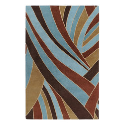 Forum FM7002 Rug - 3'x12' - Inspired by casual lifestyles, this area rug is Hand tufted of 100% New Zealand wool, giving these rugs the quality to look great for years to come. Make your home feel like you are on vacation 365 days a year.