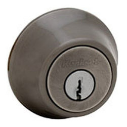 KWIKSET - 660 15A Single Cylinder Deadbolt - SINGLE CYLINDER DEADBOLT - PIN and TUMBLER ANSI