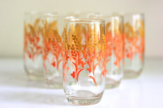 modern everyday glassware by Etsy
