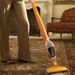 Frontgate - Ergorapido Cordless 2-in-1 Electrolux Vacuum - Cleans carpets and hard-surface flooring. Always ready thanks to a built-in charging station. Brush roll indicator light ensures cleaning power is maximized. Built-in removable hand vacuum with crevice tool can access the tiniest niches of your home. 120V. Our rechargeable Ergorapido Cordless 2-in-1 Electrolux Vacuum spot-cleans floors and hard-to-reach areas. This lightweight, yet powerful bagless vacuum blends the ease of a stick vacuum with the power of a full-size upright.. . . . .