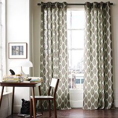 mediterranean curtains by West Elm