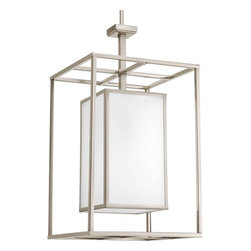 Progress Lighting - Progress Lighting P3921-09 Haven 1 Light Hall & Foyer In Brushed Nickel - Progress Lighting P3921-09 Haven 1 Light Hall & Foyer In Brushed Nickel
