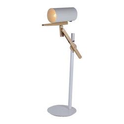 ParrotUncle - Adjustable Wood Designer Swing Arm Reading Task Lamp - Adjustable Wood Designer Swing Arm Reading Task Lamp