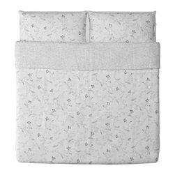 IKEA of Sweden - ALVINE VACKER Duvet cover and pillowcase(s) - Duvet cover and pillowcase(s), multicolor