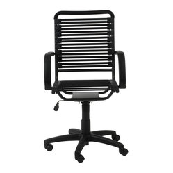 Bungee Flat High Back Office Chair