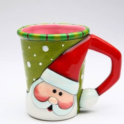 ATD - Set of 4 Santa Claus Design 8 oz. Holiday Drinking Mugs, 5 Inch - This gorgeous Set of 4 Santa Claus Design 8 oz. Holiday Drinking Mugs, 5 Inch has the finest details and highest quality you will find anywhere! Set of 4 Santa Claus Design 8 oz. Holiday Drinking Mugs, 5 Inch is truly remarkable.