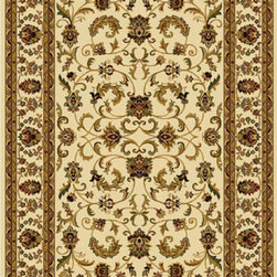 """Home Dynamix - Home Dynamix Rug, Ivory, 3' 7"""" x5' 2"""" - The Royalty Collection by Home Dynamix is made up of beautiful traditionally styled designs at a lower price. The Royalty Collection is the perfect  choice for that classic look.."""
