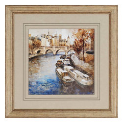 Paragon - Notre-Dame, Paris - Framed Art - Each product is custom made upon order so there might be small variations from the picture displayed. No two pieces are exactly alike.