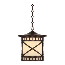Robert Abbey - Robert Abbey Belmont Large Outdoor Pendant CP551 - Antique Copper Finish over Brass