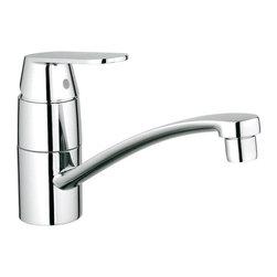 Grohe - Grohe Eurosmart Cosmopolitan Single Lever Kitchen Faucet (31 322 000) - Grohe 31 322 000 Eurosmart Cosmopolitan Single Lever Kitchen Faucet, StarLight Chrome