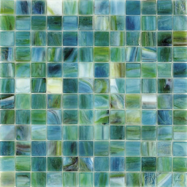 Can I use sea glass tile for 16 year old's bathroom floor