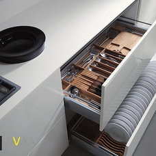 Modern Kitchen Drawer Organizers Modern Kitchen Cabinets