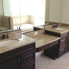 Vanity Tops And Side Splashes by Optimum Granite & Marble, Inc.