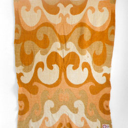 Vintage Wool Blanket by Hindsvik - Add some retro cool to your home with this lovely vintage Dutch blanket, made of 100 percent wool. I love the pretty design and warm tones — and it's versatile enough to work well in both traditional and modern homes.