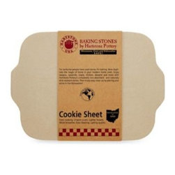 Original Hartstone Pottery, Inc,the - Rectangular Cookie Sheet Baking Stone by Hartstone Pottery - This innovative cookie sheet is made of stoneware and is non-absorbent and naturally stick-resistant, making it very durable and versatile. The stoneware disperses heat and allows for even cooking temperatures to prevent food from burning.