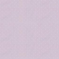 Wallpaper Worldwide - Hero - Dots Wallpaper, White, Light Purple - Material: Paper