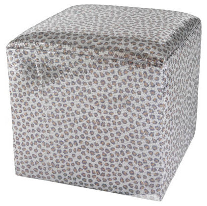 contemporary ottomans and cubes by Horchow