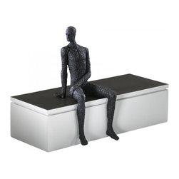 """Joshua Marshal - Old World 11"""" Posing Man Shelf Decor - Old World 11"""" Posing Man Shelf Decor"""