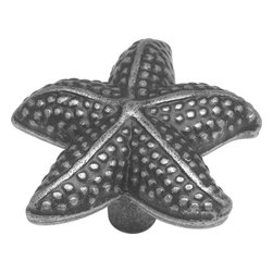 """Hickory Hardware - South Seas Vibra Pewter Cabinet Knob, 1 1/2"""" - Spontaneous, unpredictable, fanciful, unusual or quaint that's the definition you'll find in a dictionary. We define it as a style that is full of unexpected clever and creative ideas that jar the imagination while adding design and function."""