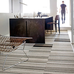 """FLOR - This area rug consist of Like Minded and Parallel Reality. $28.00 / 2 squares / (1' 7"""" x 3' 3"""")"""