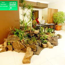 Asian Indoor Pots And Planters by Atieh Shahr Consultant Engineers