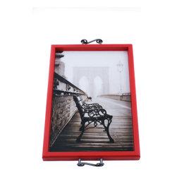 My Méz - Brooklyn Bridge New York Tray/Wall Art - It's a tray; It's wall art. It's BOTH, and It's Made In the USA!
