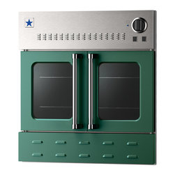 "BlueStar 36"" Single Wall Oven- Gas Oven - Moss Green (RAL 6005)"