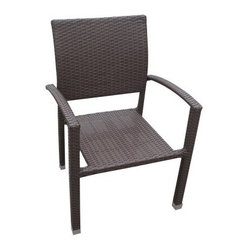 Bella All-Weather Wicker Dining Chair - Finding a good, sturdy outdoor dining chair is nothing short of a small miracle sometimes - that's why you're really going to love the Bella All-Weather Wicker Dining Chair. All the elements combine in this dining chair to create a piece that's truly resistant to water and UV rays, including protective powder coating on the aluminum frame and wicker rattan weave made of synthetic materials. The finish is available in a variety of colors to add panache to any patio decor, and the chair comes pre-assembled, so you won't have to worry about nuts, bolts, or instructions. Order one or order several - however many you need for that perfect outdoor meal.About ModwayModway designs and manufactures modern classic furniture pieces for the contemporary home. The quality pieces are fresh and elegant with a distinctively updated appeal. Simple, clean lines and a vibrant selection of colors and finishes make these pieces perfect for the home or office. A wide selection of products include pieces for the living room, dining room, bar, office, and outdoors. High-quality and innovative designs make Modway the premier company for luxurious modern style.