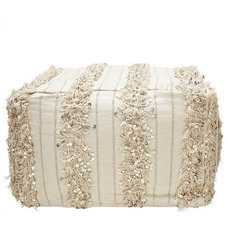 Eclectic Floor Pillows And Poufs by Calypso St. Barth