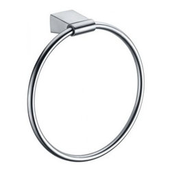 Dawn Stainless Steel Towel Ring 94010050S - Elegant Designs for Home Decoration